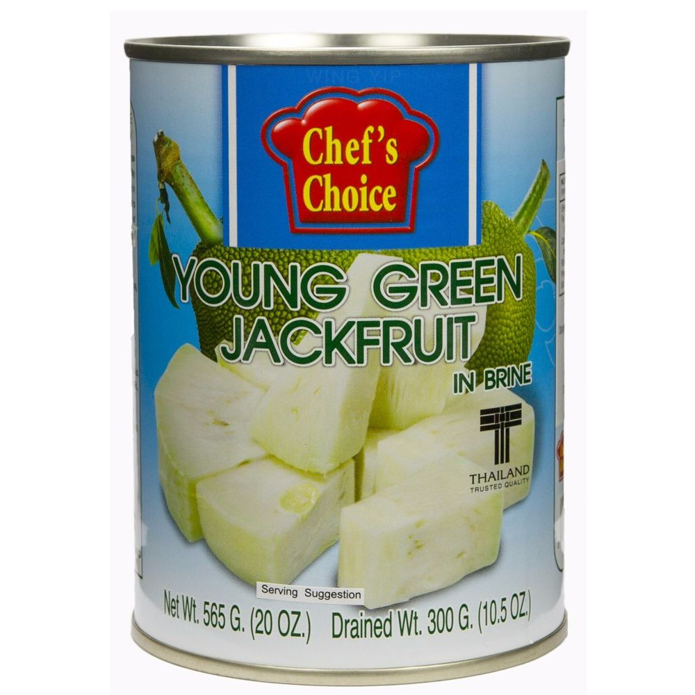 Chef Choice Green Jackfruit In Brine - 565g - Shipping From Just £2.99 Or FREE When You Spend £60 Or More