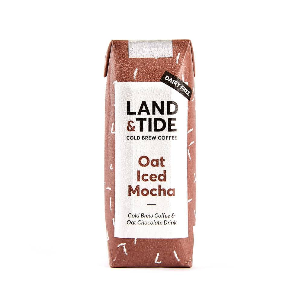 Land and Tide Oat Iced Mocha 250ml - Shipping From Just £2.99 Or FREE When You Spend £55 Or More