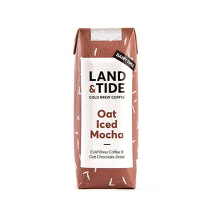 Land and Tide Oat Iced Mocha 250ml - Shipping From Just £2.99 Or FREE When You Spend £60 Or More