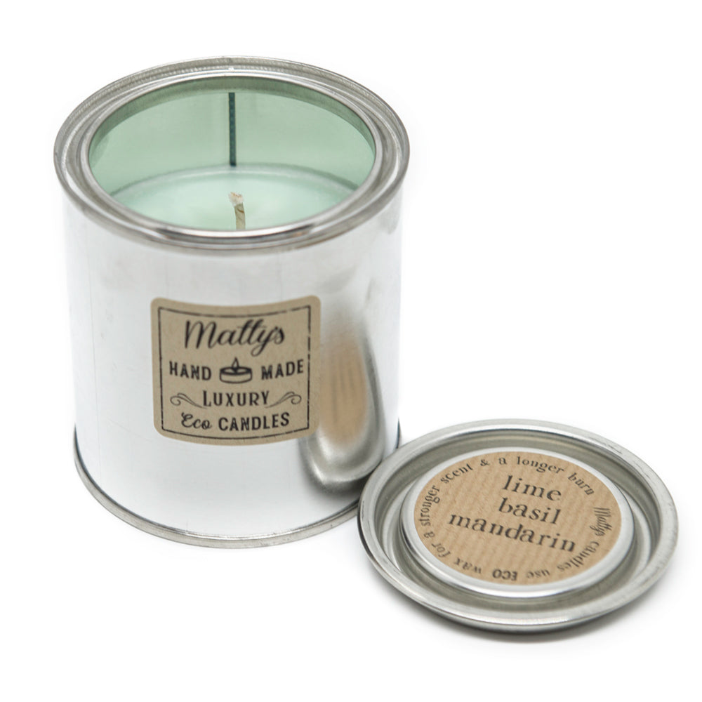Matty's Candles Lime, Basil and Mandarin Candle - Shipping From Just £2.99 Or FREE When You Spend £60 Or More