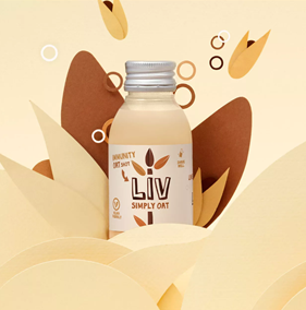 Liv Simply Oat Shot 100ml - Shipping From Just £2.99 Or FREE When You Spend £60 Or More