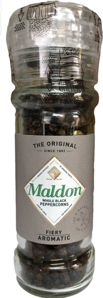Maldon Peppercorn grinder 50g - Shipping From Just £2.99 Or FREE When You Spend £55 Or More