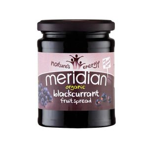 Meridian Blackcurrant Spread 284g - Shipping From Just £2.99 Or FREE When You Spend £55 Or More