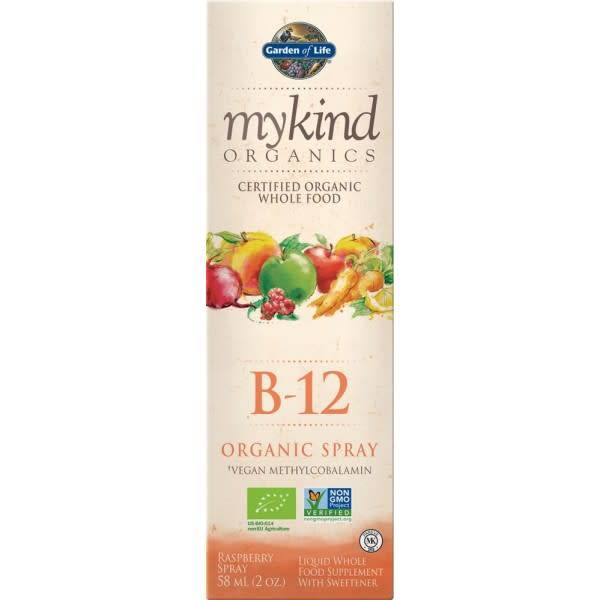 mykind Organic Organic B12 spray 58ml - Shipping From Just £2.99 Or FREE When You Spend £60 Or More