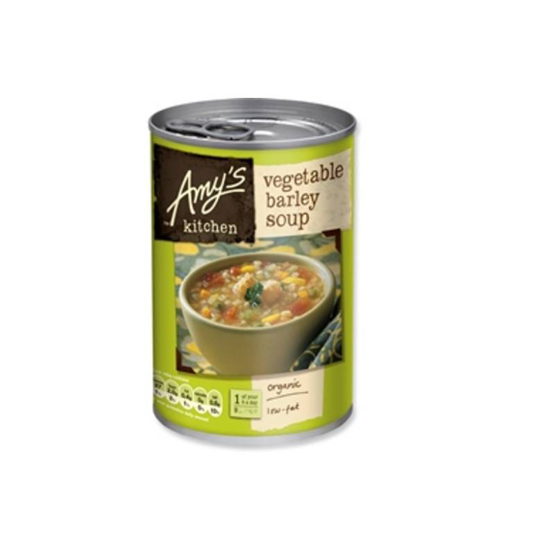 Amys Organic Vegetable Barley Soup - 400g - Shipping From Just £2.99 Or FREE When You Spend £60 Or More
