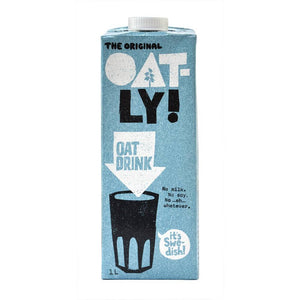 Oatly Original Oat Drink 1l - Shipping From Just £2.99 Or FREE When You Spend £60 Or More