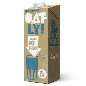Oatly Organic 1l - Shipping From Just £2.99 Or FREE When You Spend £60 Or More
