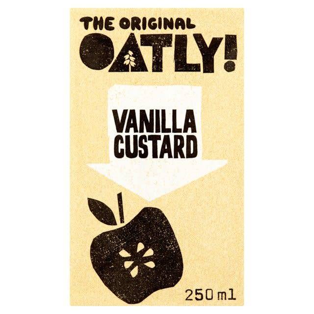 Oatly Vanilla Custard 250ml - Shipping From Just £2.99 Or FREE When You Spend £60 Or More