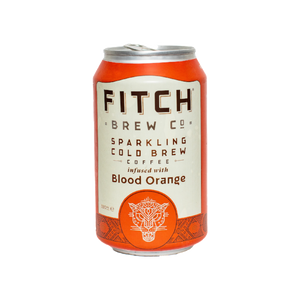 FITCH Sparkling Cold Brew Coffee Blood Orange 330ml - Shipping From Just £2.99 Or FREE When You Spend £55 Or More