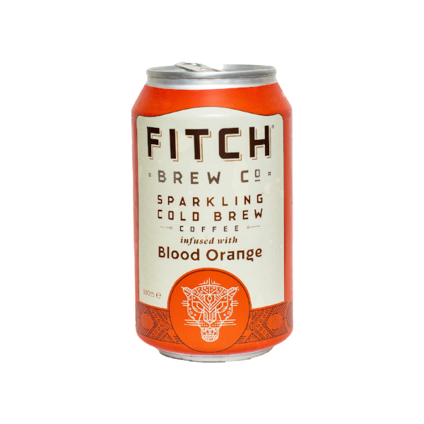 FITCH Sparkling Cold Brew Coffee Blood Orange 330ml