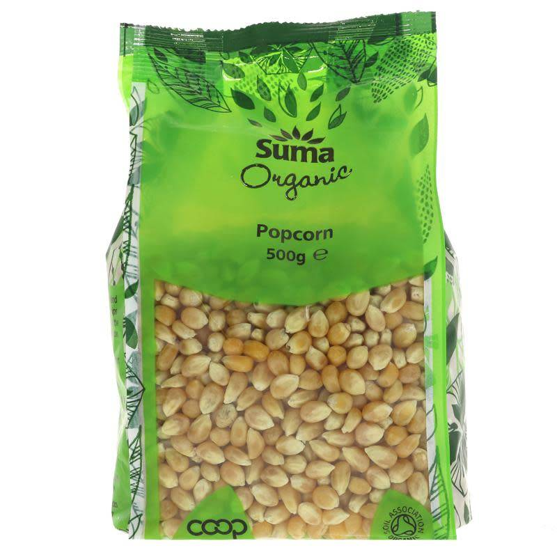 Suma Organic Popcorn 500g - Shipping From Just £2.99 Or FREE When You Spend £60 Or More