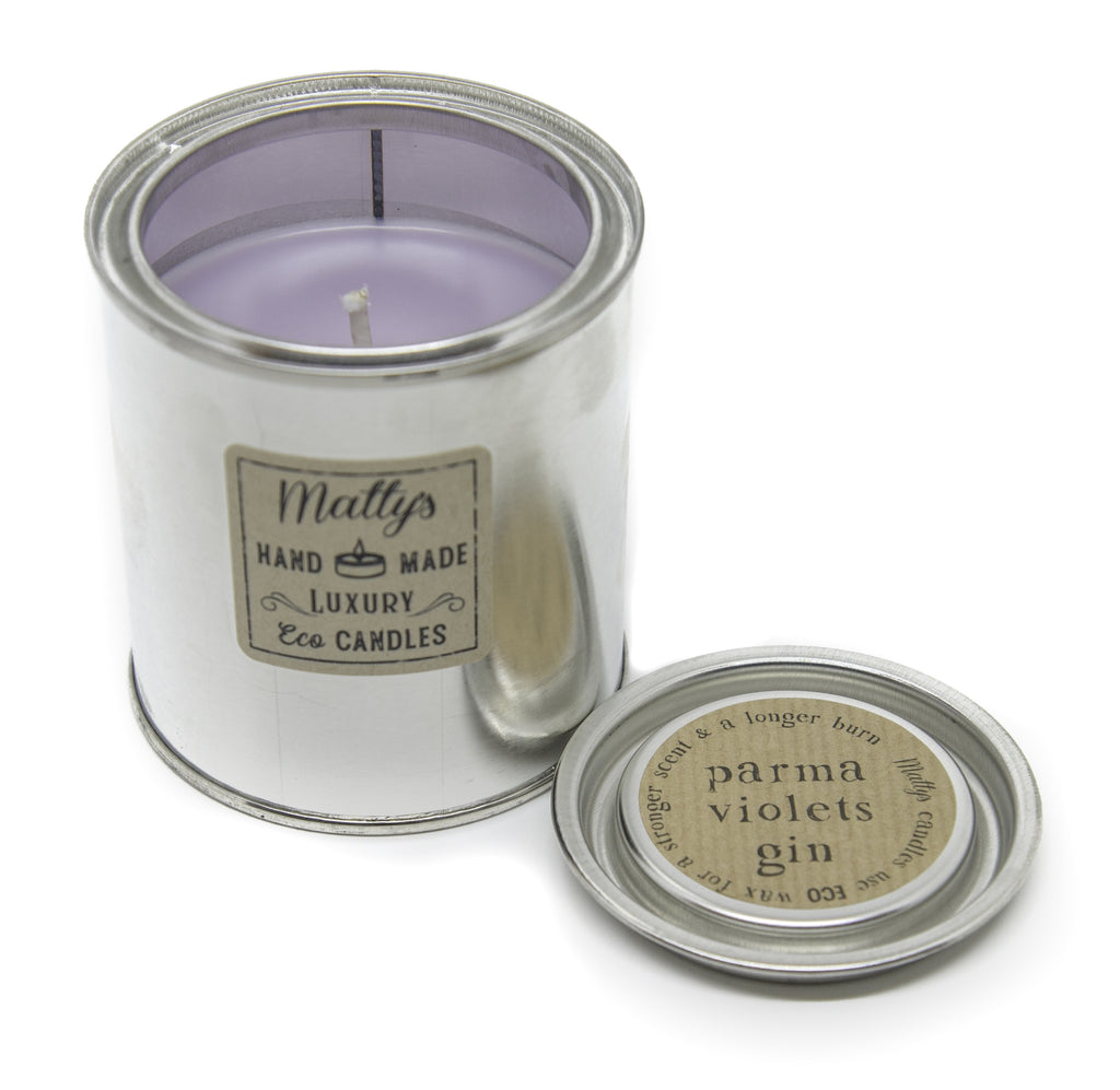 Matty's Candles Parma Violets Gin Candle - Shipping From Just £2.99 Or FREE When You Spend £60 Or More