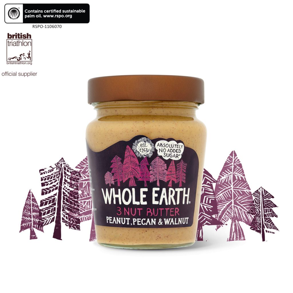 Peanut Pecan And Walnut Butter 227g