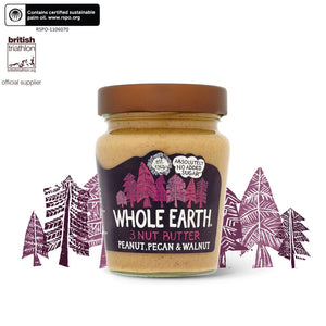 Peanut Pecan And Walnut Butter 227g - Shipping From Just £2.99 Or FREE When You Spend £60 Or More