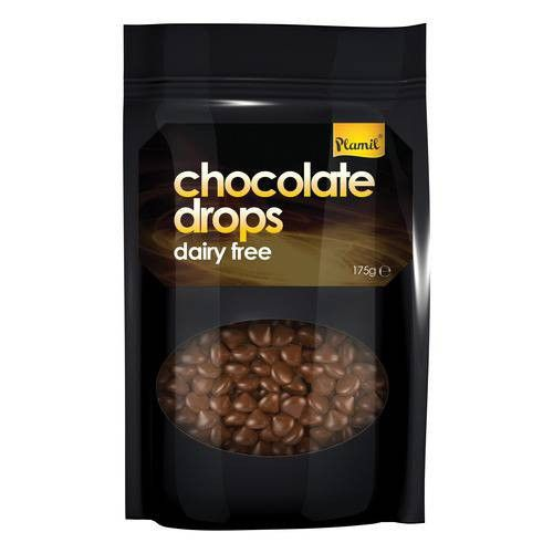 Plamil Dairy Free Chocolate Drops 175g - Shipping From Just £2.99 Or FREE When You Spend £60 Or More
