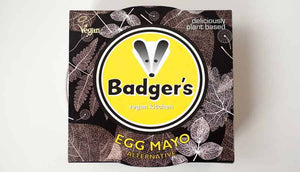 Badger's Egg Mayonnaise Alternative 250g - USE BY 25/1/20 - Shipping From Just £2.99 Or FREE When You Spend £55 Or More