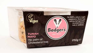Badgers Tunah Mayo 250g - Shipping From Just £2.99 Or FREE When You Spend £55 Or More