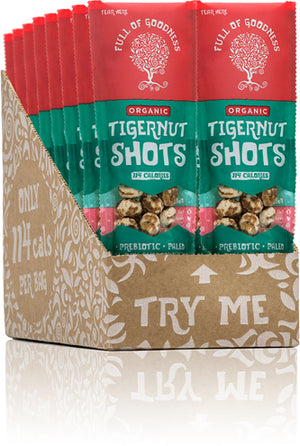 Full of Goodness Tigernut Shot 25g - Shipping From Just £2.99 Or FREE When You Spend £55 Or More