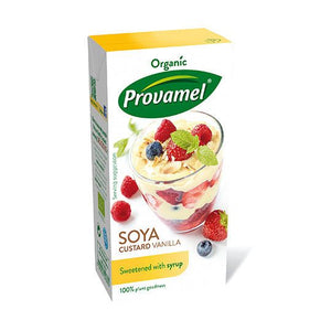 Provamel Vanilla Custard 525g - Shipping From Just £2.99 Or FREE When You Spend £60 Or More