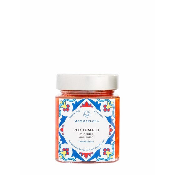 Mamma Flora Handmade Red Tomato Sauce - 185g - Shipping From Just £2.99 Or FREE When You Spend £60 Or More