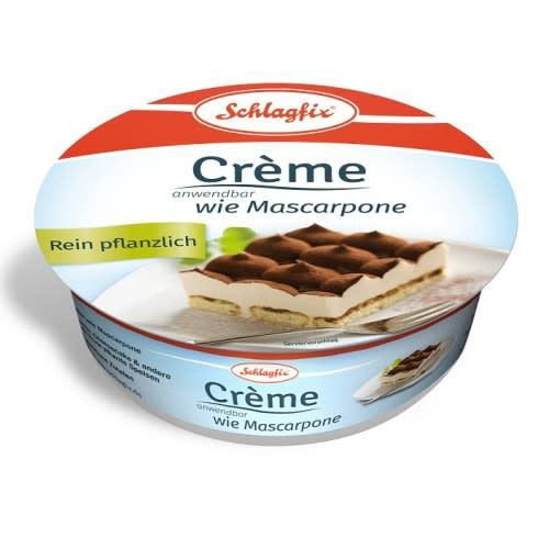Schlagfix Spread Vegan Mascarpone 250g - Shipping From Just £2.99 Or FREE When You Spend £60 Or More