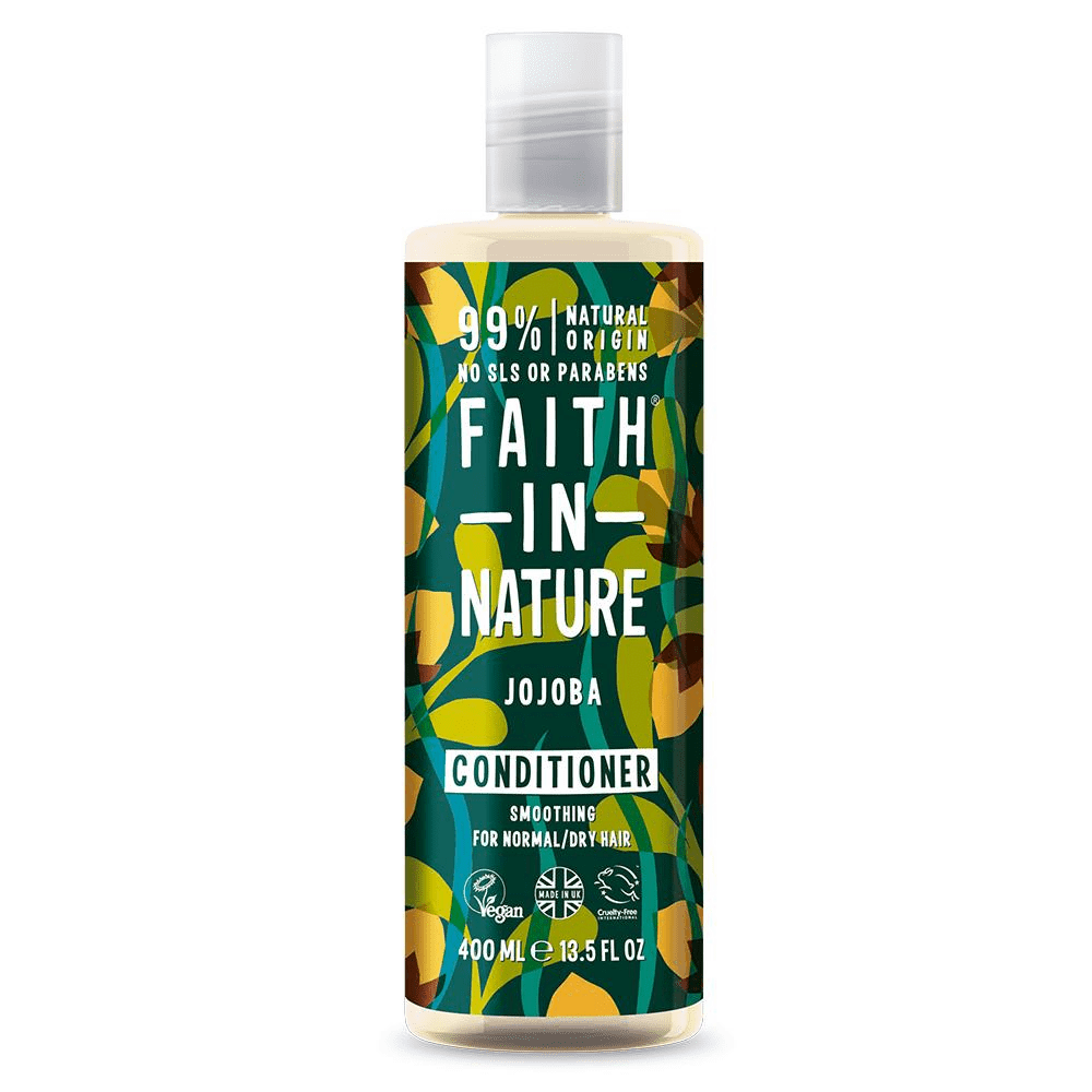 Faith in Nature Jojoba Conditioner 400ml - Shipping From Just £2.99 Or FREE When You Spend £55 Or More