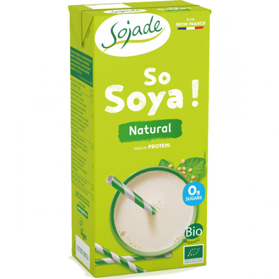 Sojade Natural 1ltr - Shipping From Just £2.99 Or FREE When You Spend £55 Or More