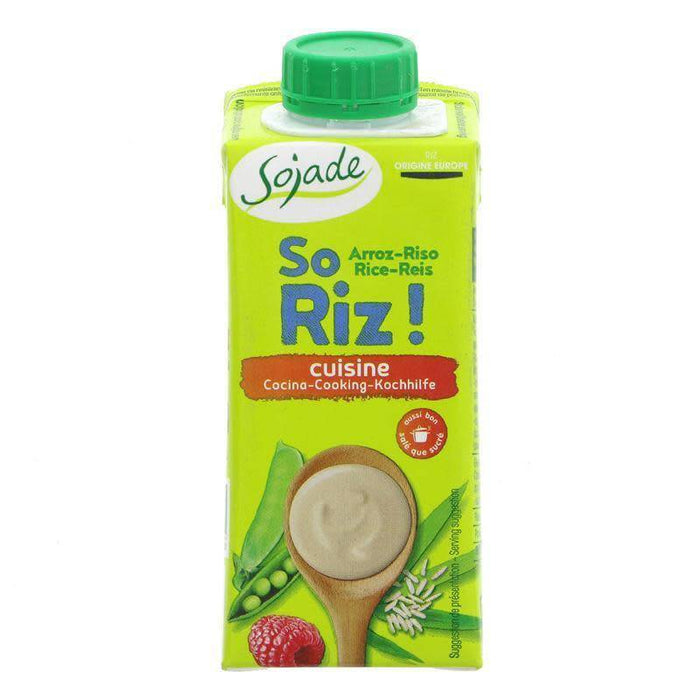 Sojade ORG So RICE Cuisine Cream 200ml