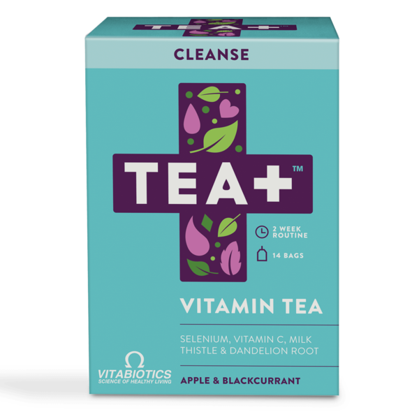 TEA+ Vitamin Tea Cleanse - 14 bags - Shipping From Just £2.99 Or FREE When You Spend £60 Or More