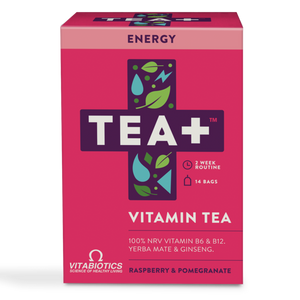 TEA+ Vitamin Tea Energy - 14 bags - Shipping From Just £2.99 Or FREE When You Spend £60 Or More