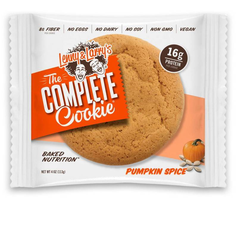 Lenny & Larry's Complete Cookie Pumpkin Spice 113g - Shipping From Just £2.99 Or FREE When You Spend £60 Or More