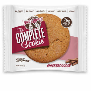 Lenny & Larry's Complete Cookie Snickerdoodle 113g - Shipping From Just £2.99 Or FREE When You Spend £60 Or More