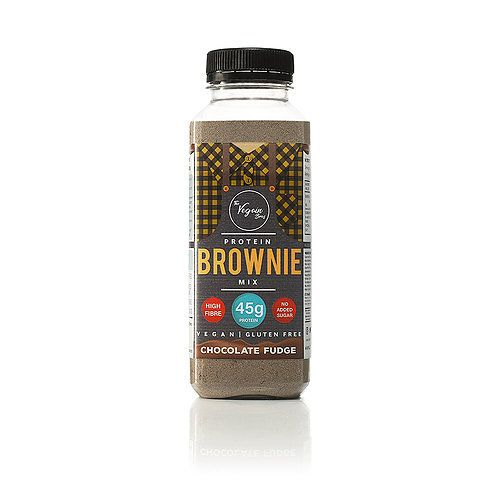 The Vegain Bros Gluten Free Fudgy Chocolate Protein Brownie Mix 125g - Shipping From Just £2.99 Or FREE When You Spend £60 Or More