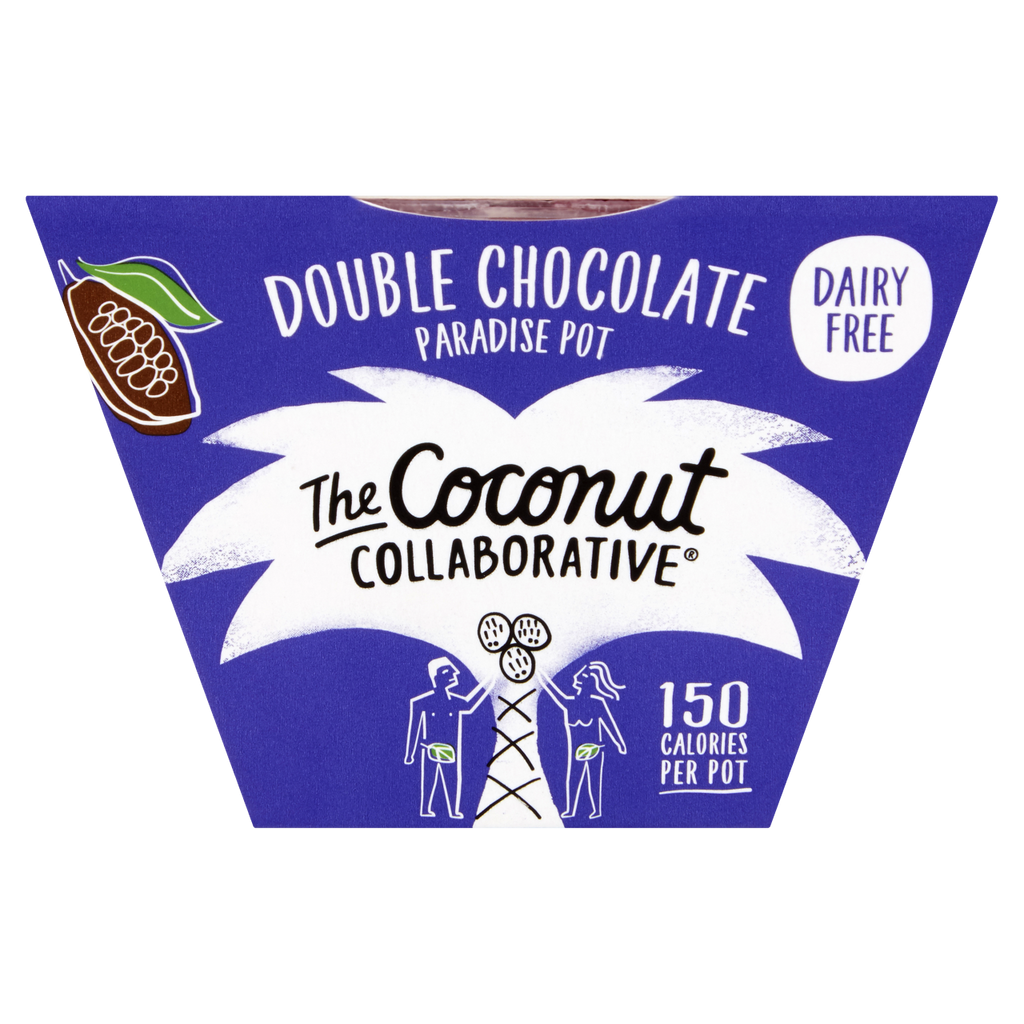 Coconut Collaborative Double Chocolate Paradise Pot 65g - Shipping From Just £2.99 Or FREE When You Spend £60 Or More