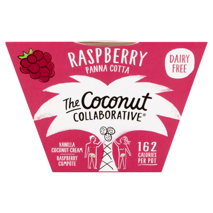 Coconut Collaborative Raspberry Panna Cotta Pot 80g