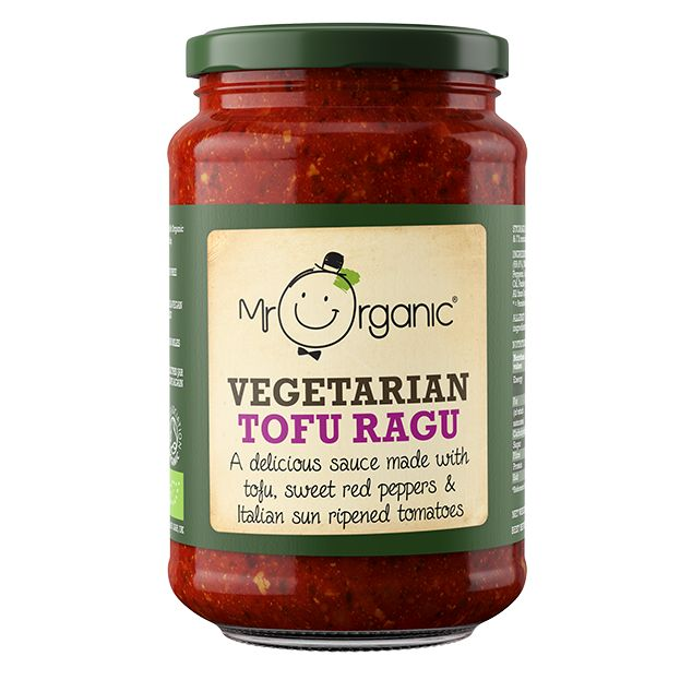 Mr Organic Vegetarian Tofu Ragu - 350g - Shipping From Just £2.99 Or FREE When You Spend £60 Or More