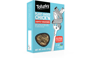 Tofurky Lightly Seasoned Chickn - 227g - Shipping From Just £2.99 Or FREE When You Spend £60 Or More