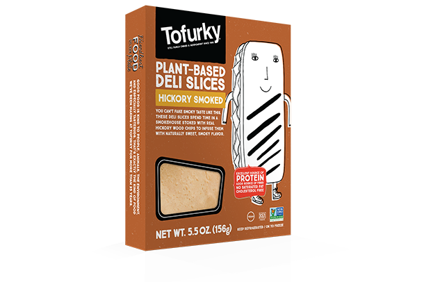 Tofurky Hickory Smoked Turkey Style Deli Slices 156g