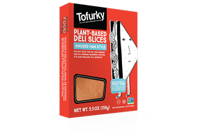 Tofurky Smoked Ham Style Deli Slices 156g - Shipping From Just £2.99 Or FREE When You Spend £60 Or More