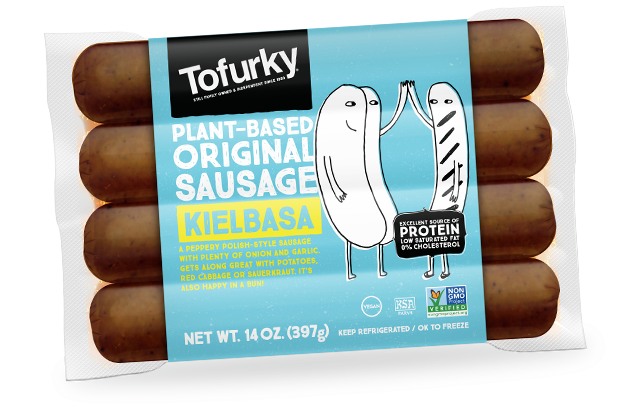 Tofurky Kielbasa Style Sausages 250g - Shipping From Just £2.99 Or FREE When You Spend £60 Or More