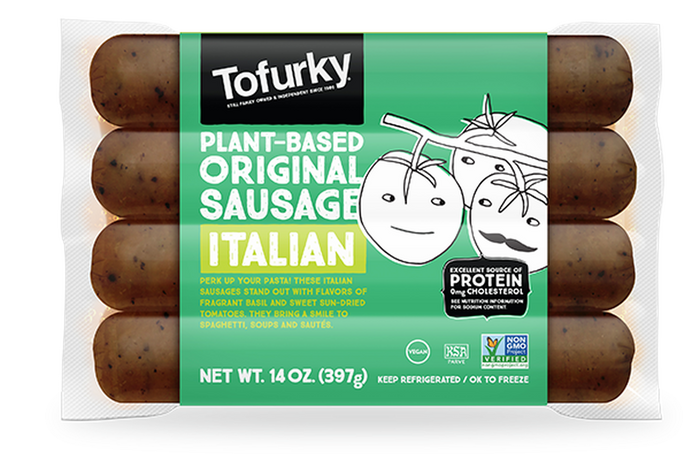 Tofurky Italian Style Sausages 250g