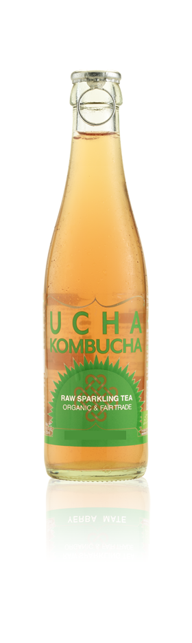 Ucha Kombucha Raw Green Tea 330ml