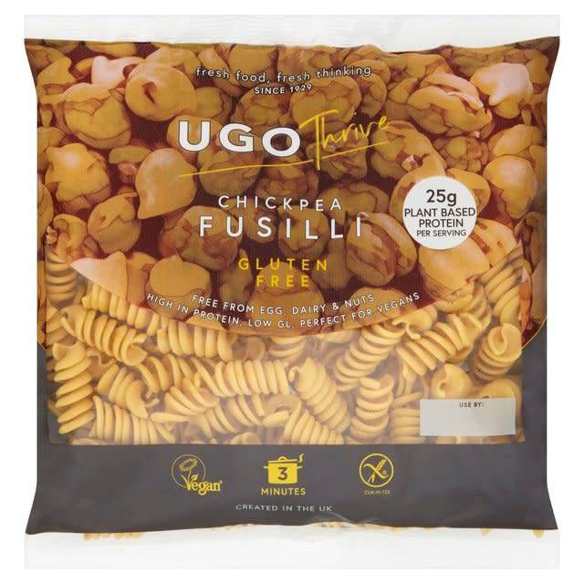 Ugo Thrive Fresh Chickpea GF Fusilli 300g