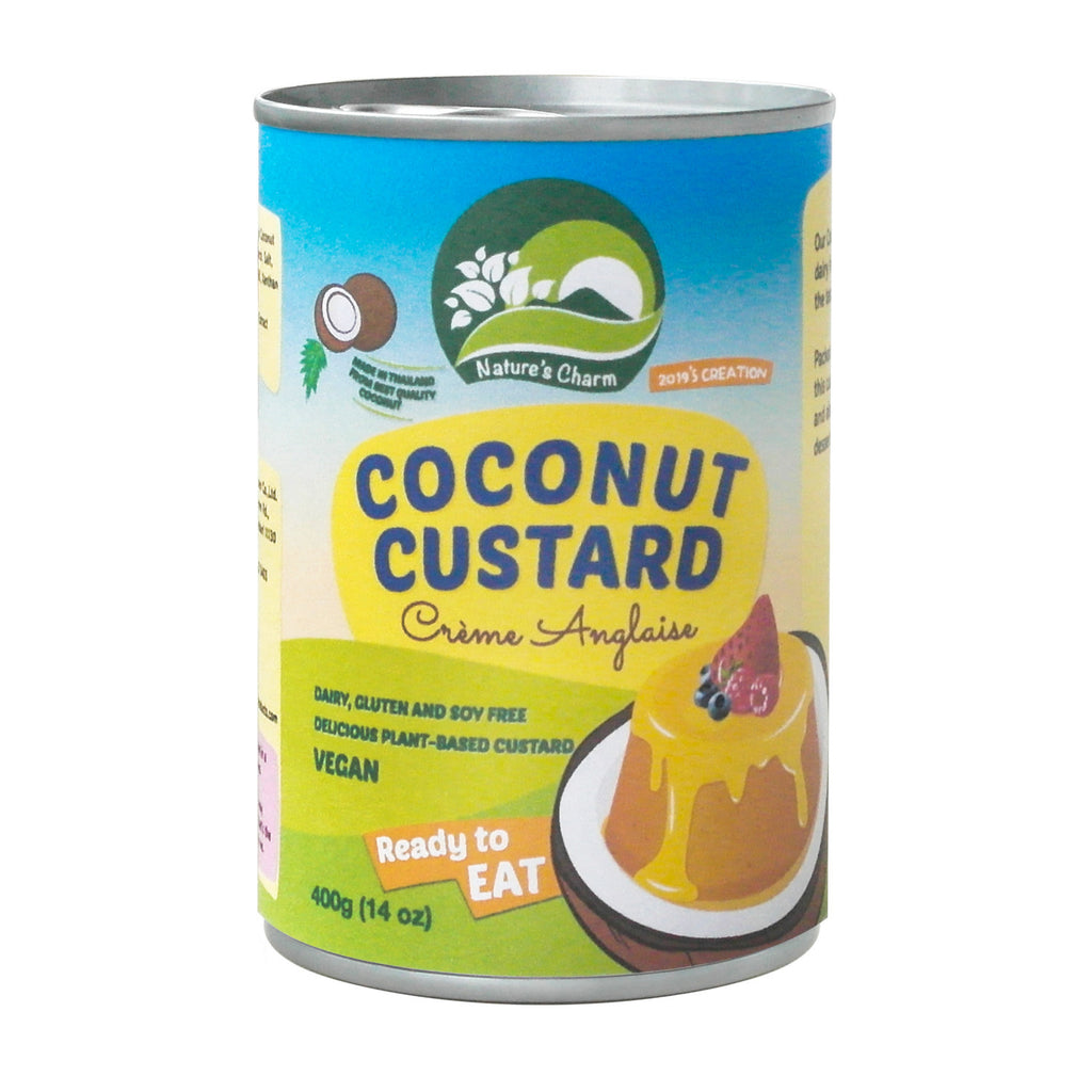 Nature's Charm Coconut Custard 400ml - Shipping From Just £2.99 Or FREE When You Spend £60 Or More