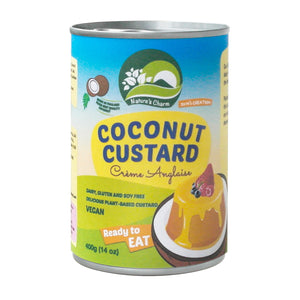Nature's Charm Coconut Custard 400ml - Shipping From Just £2.99 Or FREE When You Spend £55 Or More