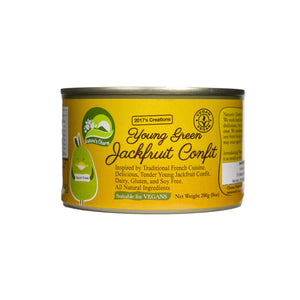 Nature's Charm Young Green Jackfruit Confit 200g - Shipping From Just £2.99 Or FREE When You Spend £60 Or More