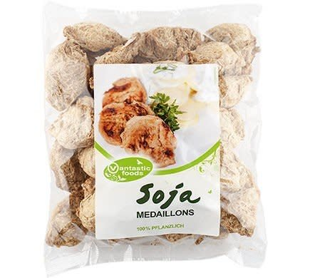 Vantastic Foods Soya Medallions Soya Meat 200g - Shipping From Just £2.99 Or FREE When You Spend £60 Or More