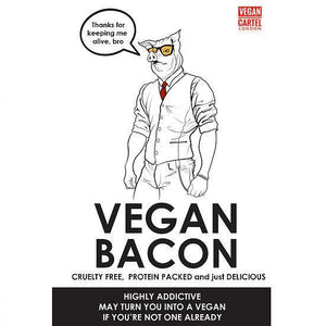 Vegan Cartel Vegan Bacon 80g - Shipping From Just £2.99 Or FREE When You Spend £60 Or More