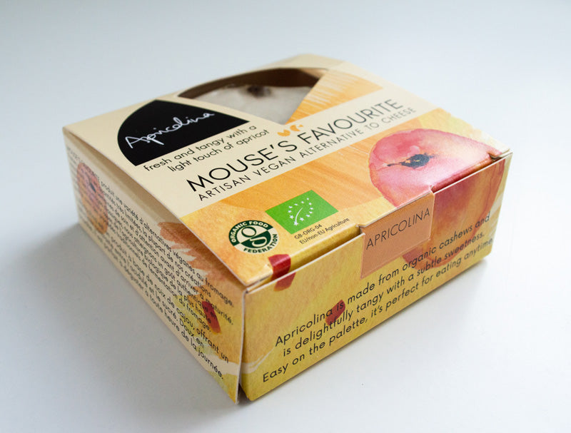 Mouse's Favourite Apricolina 125g - Shipping From Just £2.99 Or FREE When You Spend £60 Or More