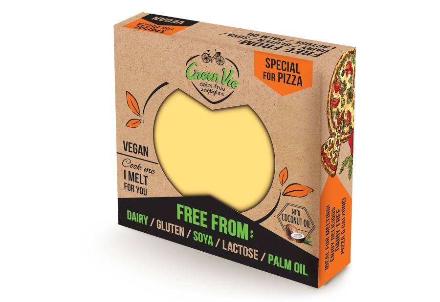 Greenvie For Pizza Block 250g - Shipping From Just £2.99 Or FREE When You Spend £55 Or More